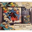 Портмоне и брелок Superman, Batman and Robin