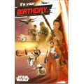 Greeting Card Star Wars TFA Heroes