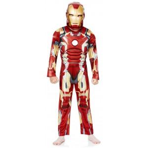 Карнавальный детский костюм Marvel Iron Man возраст 3-4 года