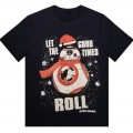 Футболка Star Wars Chistmas BB-8 размер Large