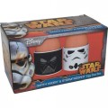Подставка для яиц Star Wars Star Wars Darth Vader and Stormtrooper