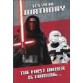 Поздравительная открытка Star Wars Kylo Ren