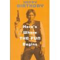 Поздравительная открытка Star Wars Han Solo