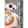 Поздравительная открытка Star Wars BB-8