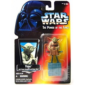 Фигурка Star Wars Yoda with Trainer Backpack and Gimer Stick серии: Power of the Force