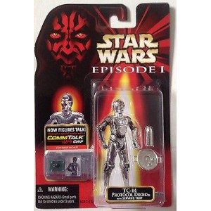 Фигурка Star Wars TC-14 Protocol Droid with Serving Tray серии: Episode I