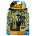 Фигурки Star Wars Luke Skywalker and Han Solo из серии: Mission Series