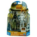 Фигурки Star Wars Rebels TIE Pilot and Stormtrooper из серии: Mission Series