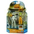 Star Wars Stormtrooper Commander & Hera Syndulla Rebels Mission Series