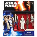 Фигурки Star Wars Han Solo and Princess Leia серии A New Hope