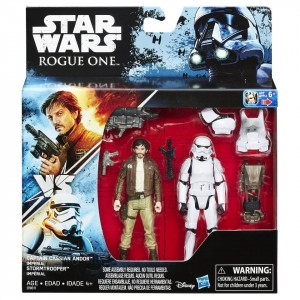 Фигурки Star Wars Rogue One Captain Cassian Andor vs. Imperial Stormtrooper