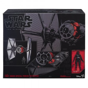 Модель Star Wars Black Series Special Forces Tie Fighter