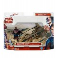 Модель Star Wars Desert Skiff With Anakin Skywalker из серии: The Clone Wars