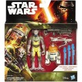 Фигурки Star Wars Garazeb Orrelios & C1-10P Chopper серии Rebels