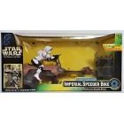 Радиоуправляемая модель с фигуркой Star Wars Radio Control Imperial Speeder Bike серии The Power Of The Force