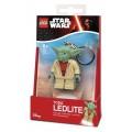 Брелок-фонарик Star Wars Lego Yoda