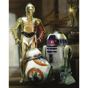 Плакат Star Wars Droids Episode VII (мини)