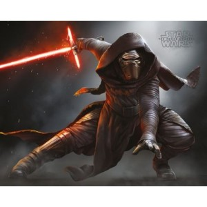 Плакат Star Wars Kylo Ren Crouch Episode VII (мини)