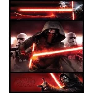 Плакат Star Wars Kylo Ren Panels Episode VII (мини)