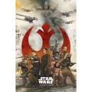 Плакат Star Wars Rogue One Rebels