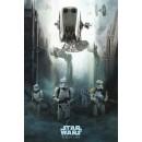 Плакат Star Wars Rogue One Stormtrooper Patrol