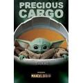 Плакат Star Wars The Mandalorian Baby Yoda