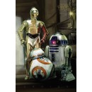 Плакат Star Wars Droids Episode VII