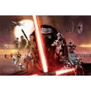 Плакат Star Wars Galaxy Episode VII