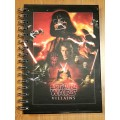 Блокнот Star Wars Villains and Heroes A5