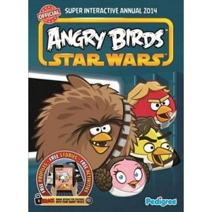 Книга для детей Angry Birds Star Wars Super Interactive Annual 2014