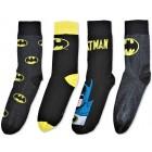 Носки Batman 4 пары размер 43-46 EU