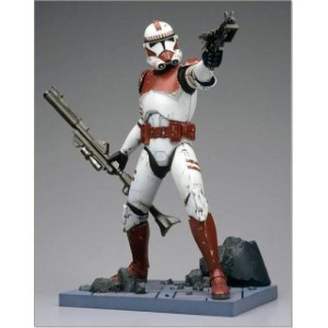 Фигурка Star Wars Shock Trooper разборная 1:7