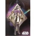 Поздравительная открытка Star Wars Heroes