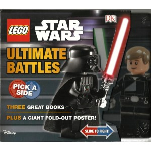 Книги Lego Star Wars Ultimate Battles 3 Books and Poster