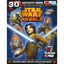 Книга для детей Star Wars Rebels 3D Activity Book
