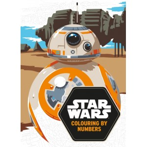 Книга Star Wars Colouring By Numbers