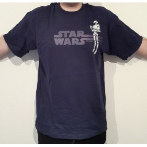 Футболка Star Wars Battle Droid Blue размер Extra Large