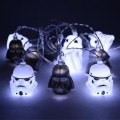 Гирлянда Star Wars Stormtrooper and Darth Vader 3D на светодиодах