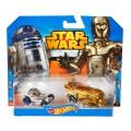 Машинки Star Wars Character R2-D2 & C-3PO
