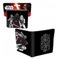 Star Wars Men's Kylo Ren and Stormtroopers Wallet