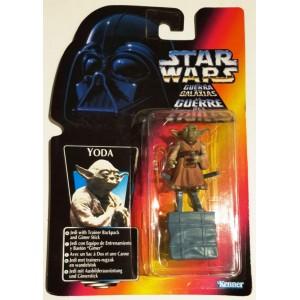 Фигурка Star Wars Yoda with Trainer Backpack серии: Power Of The Force