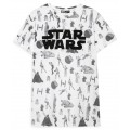 Star Wars Monochrome T-Shirt Large