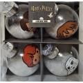 Ёлочные игрушки Harry Potter 4 штуки