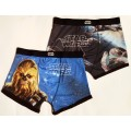 Star Wars 2 Pack Hipsters size Medium