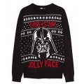 Свитер мужской Star Wars Darth Vader This is My Jolly Face размер XL