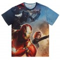Marvel Captain America T-Shirt Medium