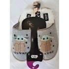 Домашние тапки Star Wars Baby Yoda размер 38-39 EU