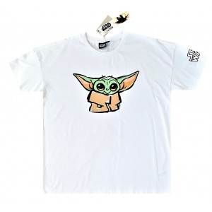 Футболка Star Wars The Mandalorian Baby Yoda Organic размер Large