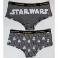 Star Wars Stormtrooper and Vader Hipster Briefs S