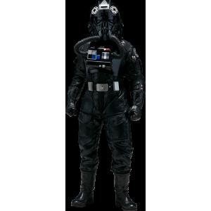 Фигурка Star Wars Sideshow Collectibles Rogue One TIE Pilot 1:6